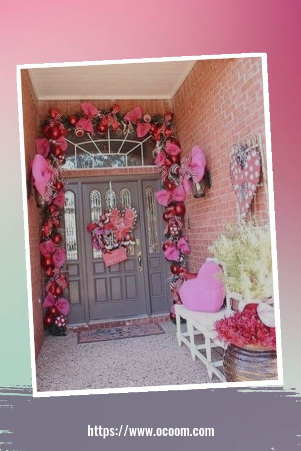 30+ Stunning Outdoor Decoration Ideas For Valentines Day 32