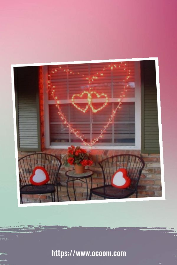 30+ Stunning Outdoor Decoration Ideas For Valentines Day 36
