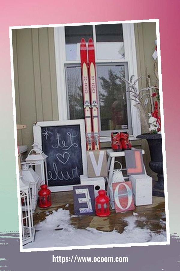 30+ Stunning Outdoor Decoration Ideas For Valentines Day 45