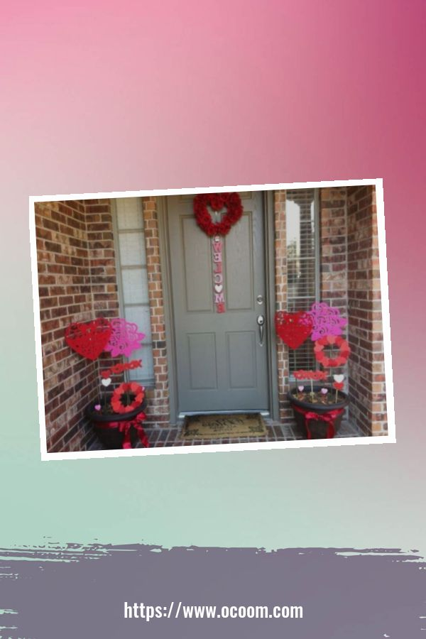 30+ Stunning Outdoor Decoration Ideas For Valentines Day 50