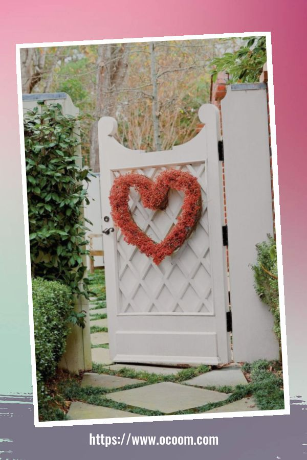 30+ Stunning Outdoor Decoration Ideas For Valentines Day 52