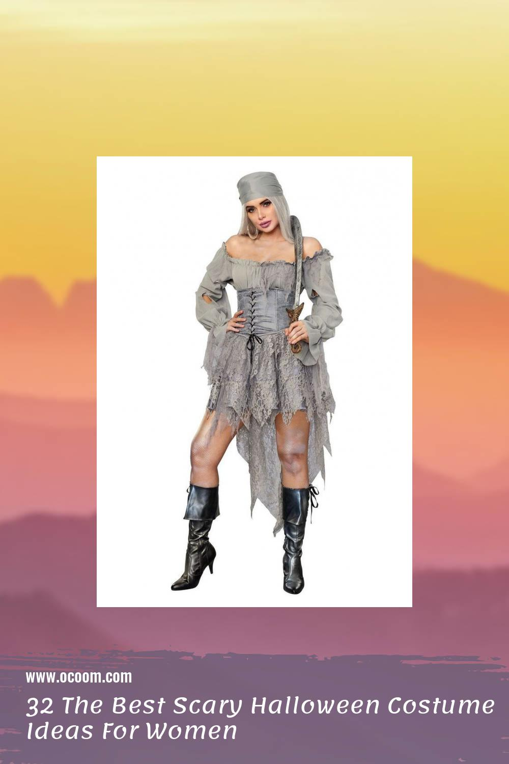32 The Best Scary Halloween Costume Ideas For Women 37
