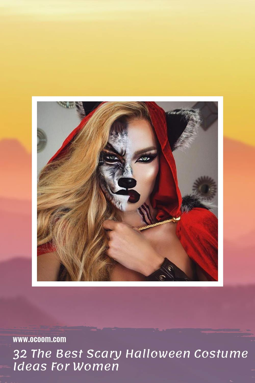 32 The Best Scary Halloween Costume Ideas For Women 41