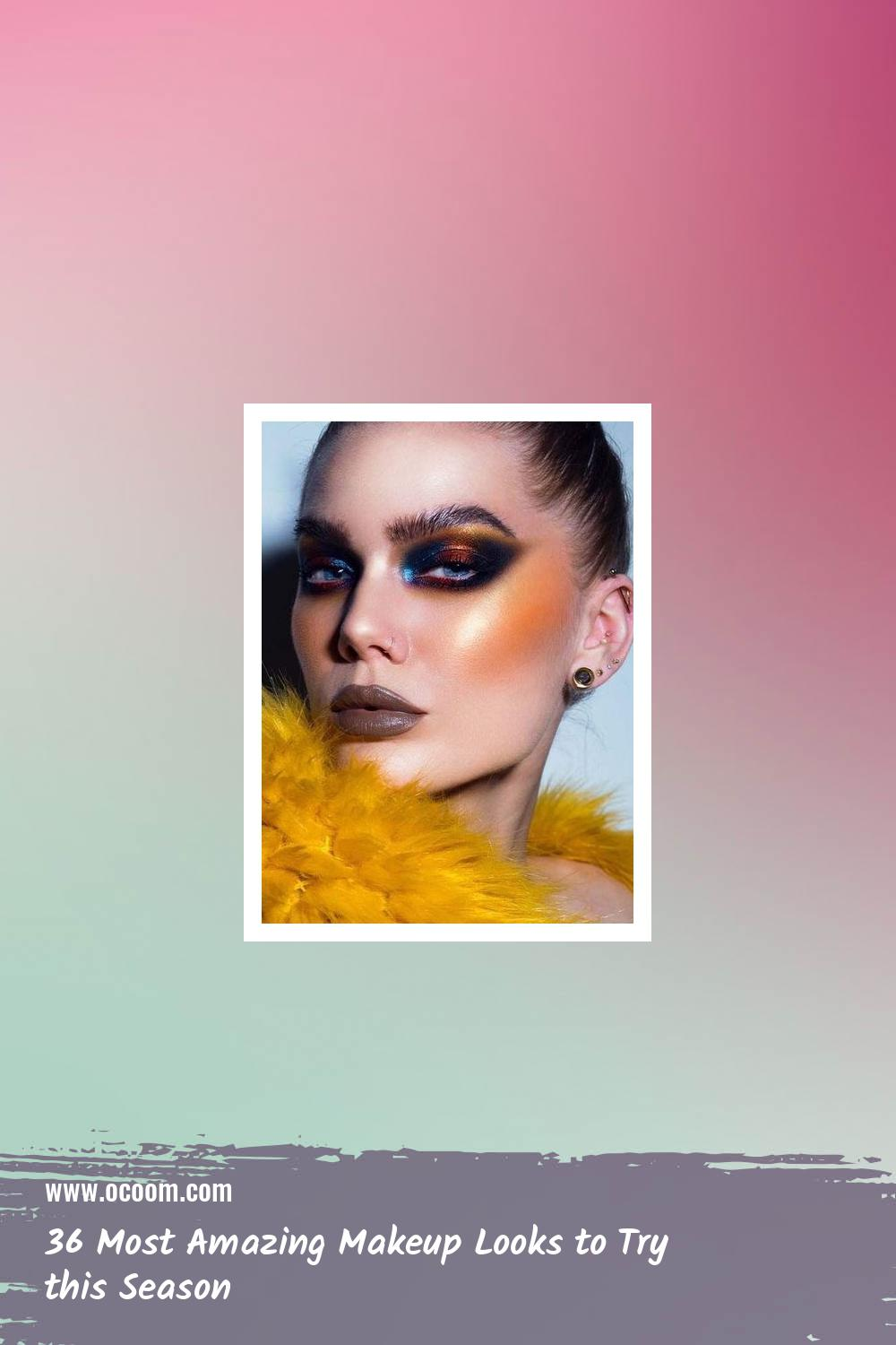 36 Most Amazing Makeup Looks to Try this Season 13