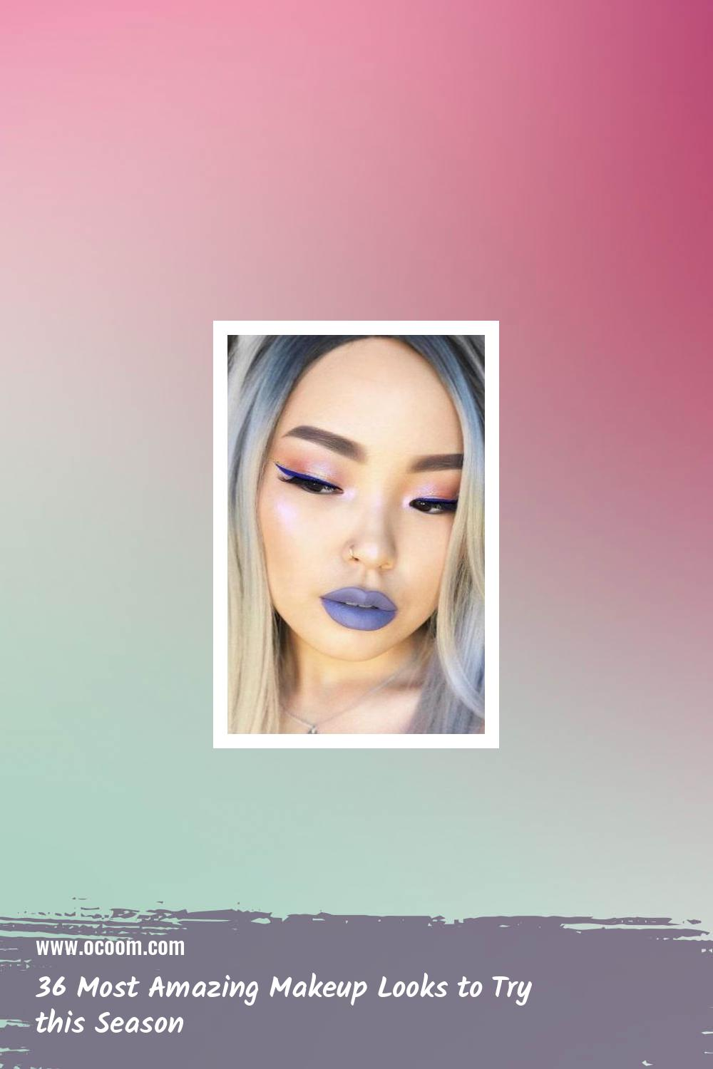 36 Most Amazing Makeup Looks to Try this Season 16