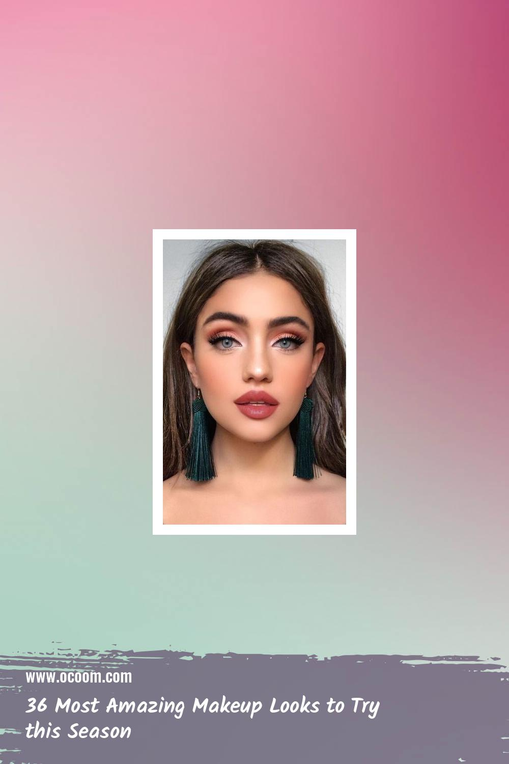 36 Most Amazing Makeup Looks to Try this Season 19