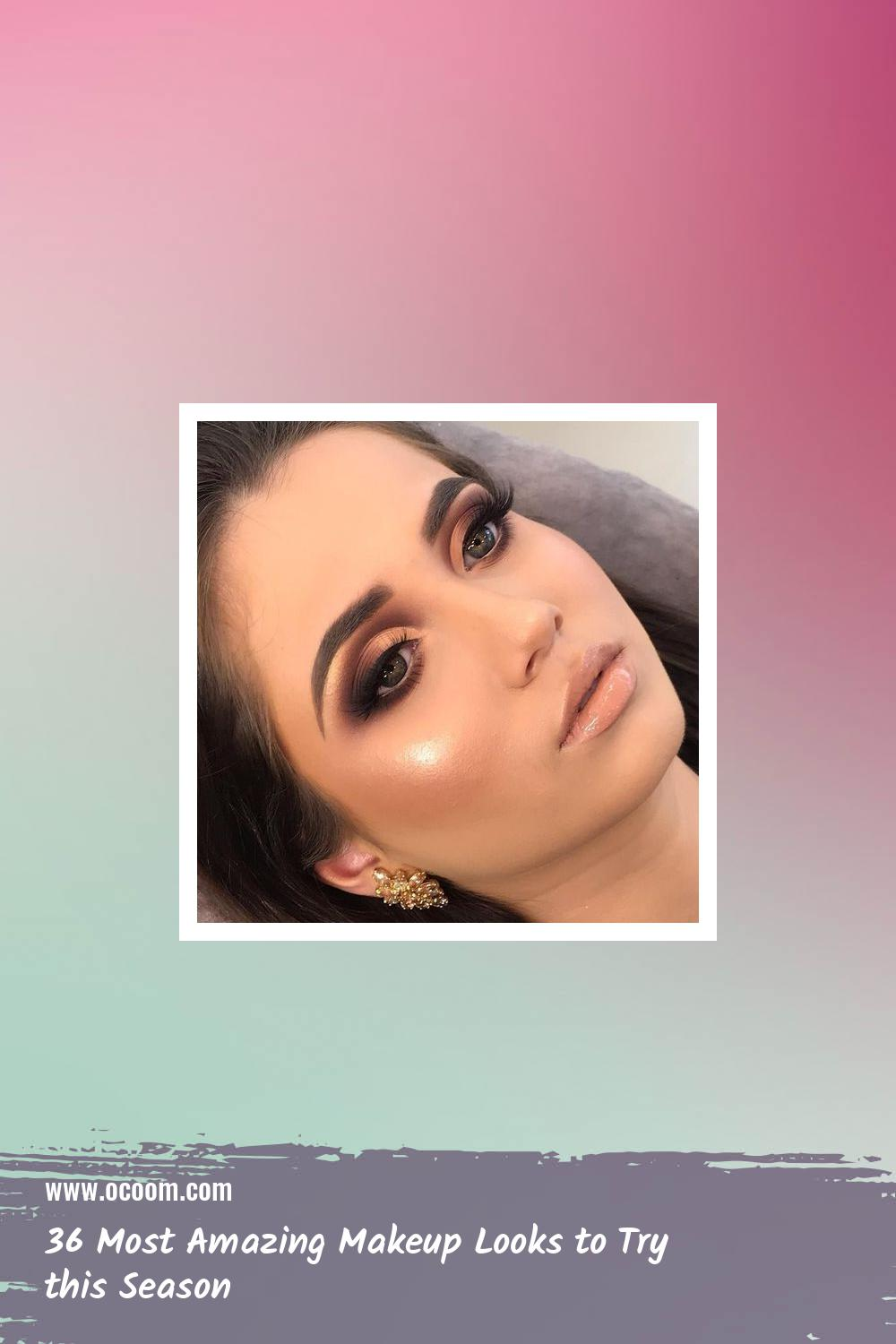 36 Most Amazing Makeup Looks to Try this Season 25