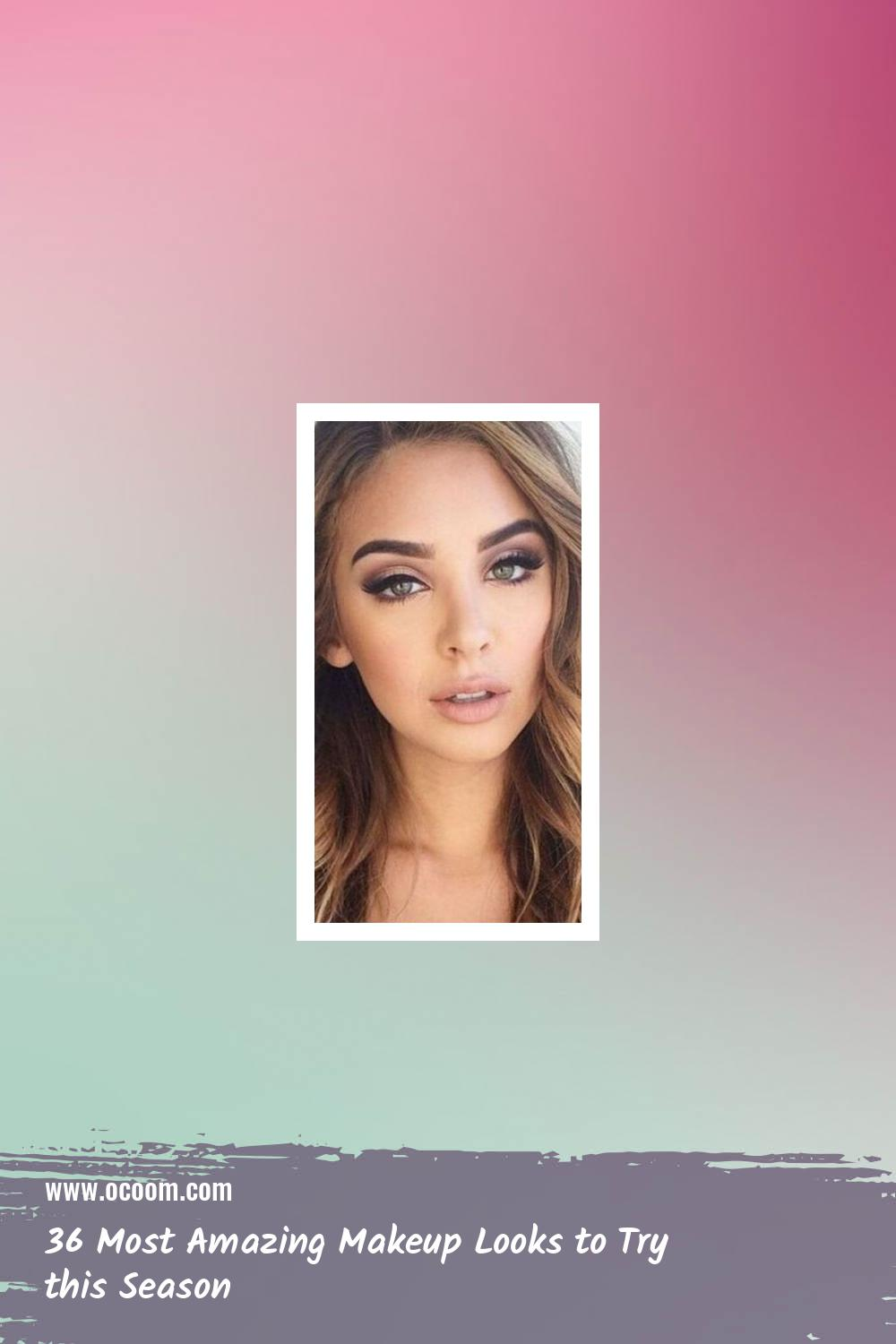 36 Most Amazing Makeup Looks to Try this Season 31
