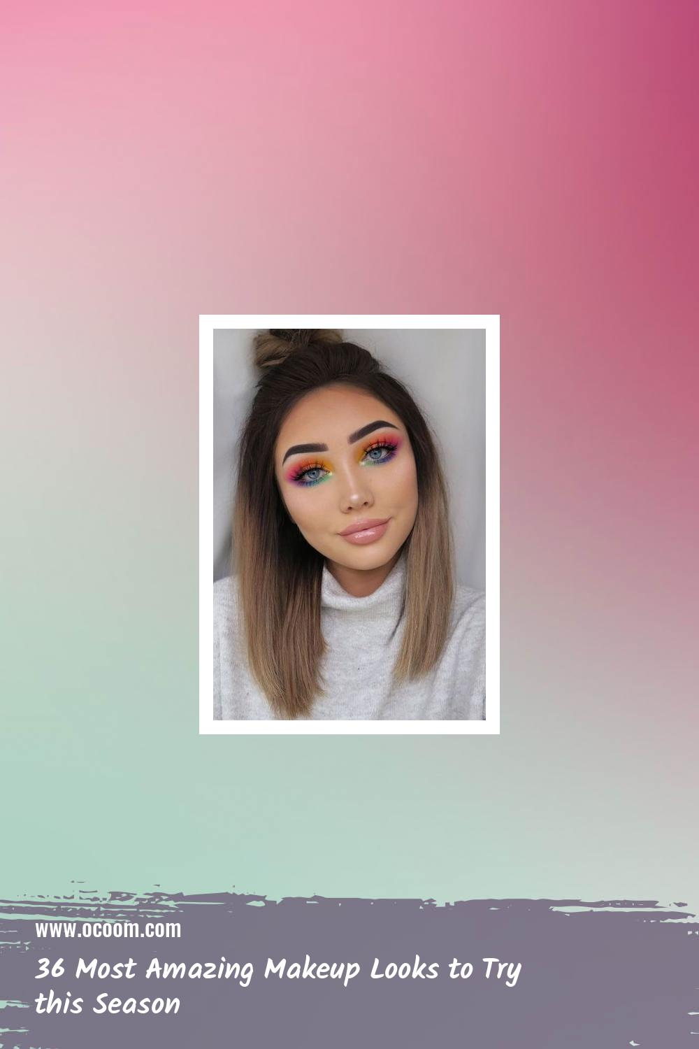 36 Most Amazing Makeup Looks to Try this Season 9