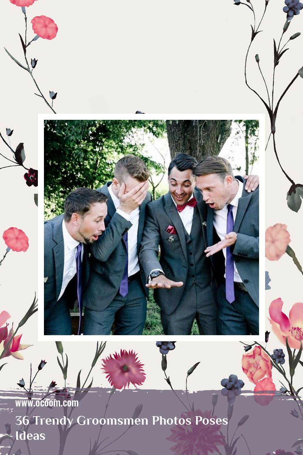 36 Trendy Groomsmen Photos Poses Ideas 14