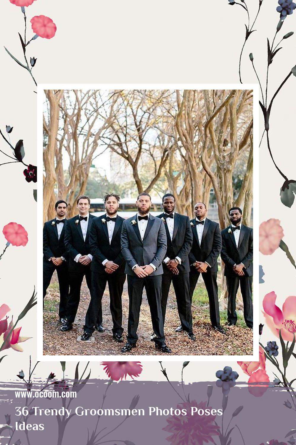 36 Trendy Groomsmen Photos Poses Ideas 24