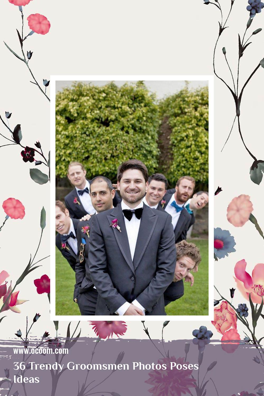 36 Trendy Groomsmen Photos Poses Ideas 3