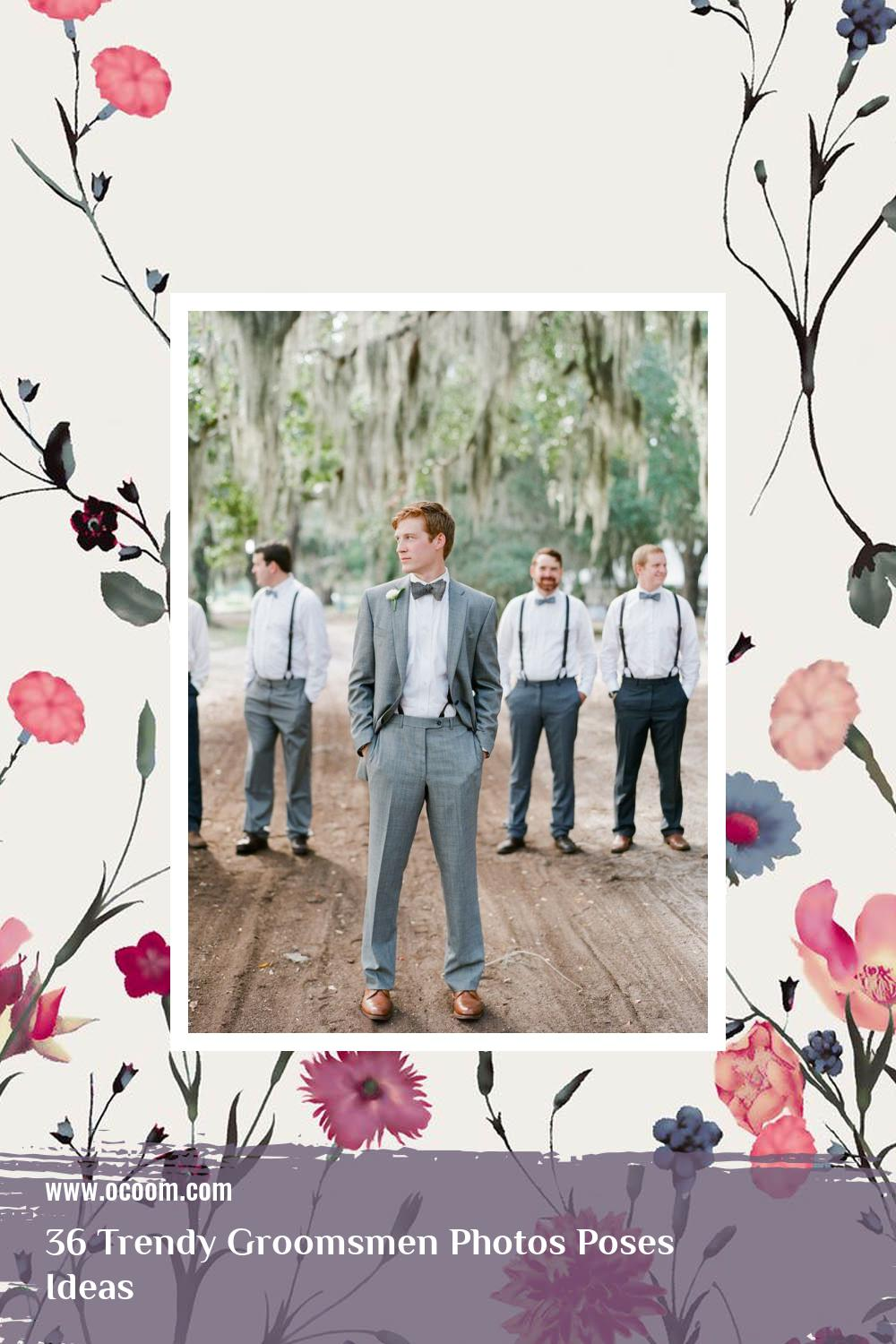 36 Trendy Groomsmen Photos Poses Ideas 34