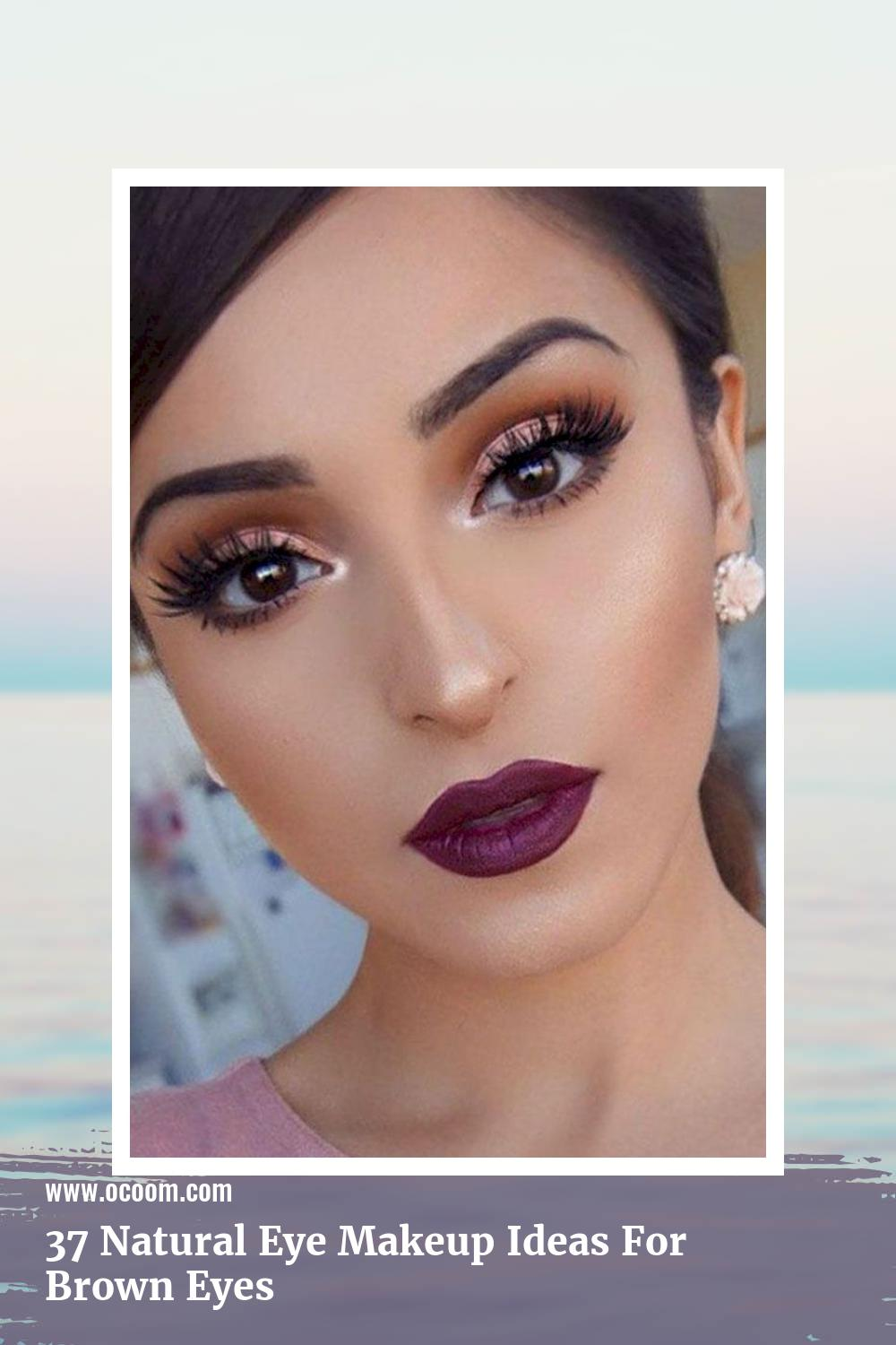 37 Natural Eye Makeup Ideas For Brown Eyes 23