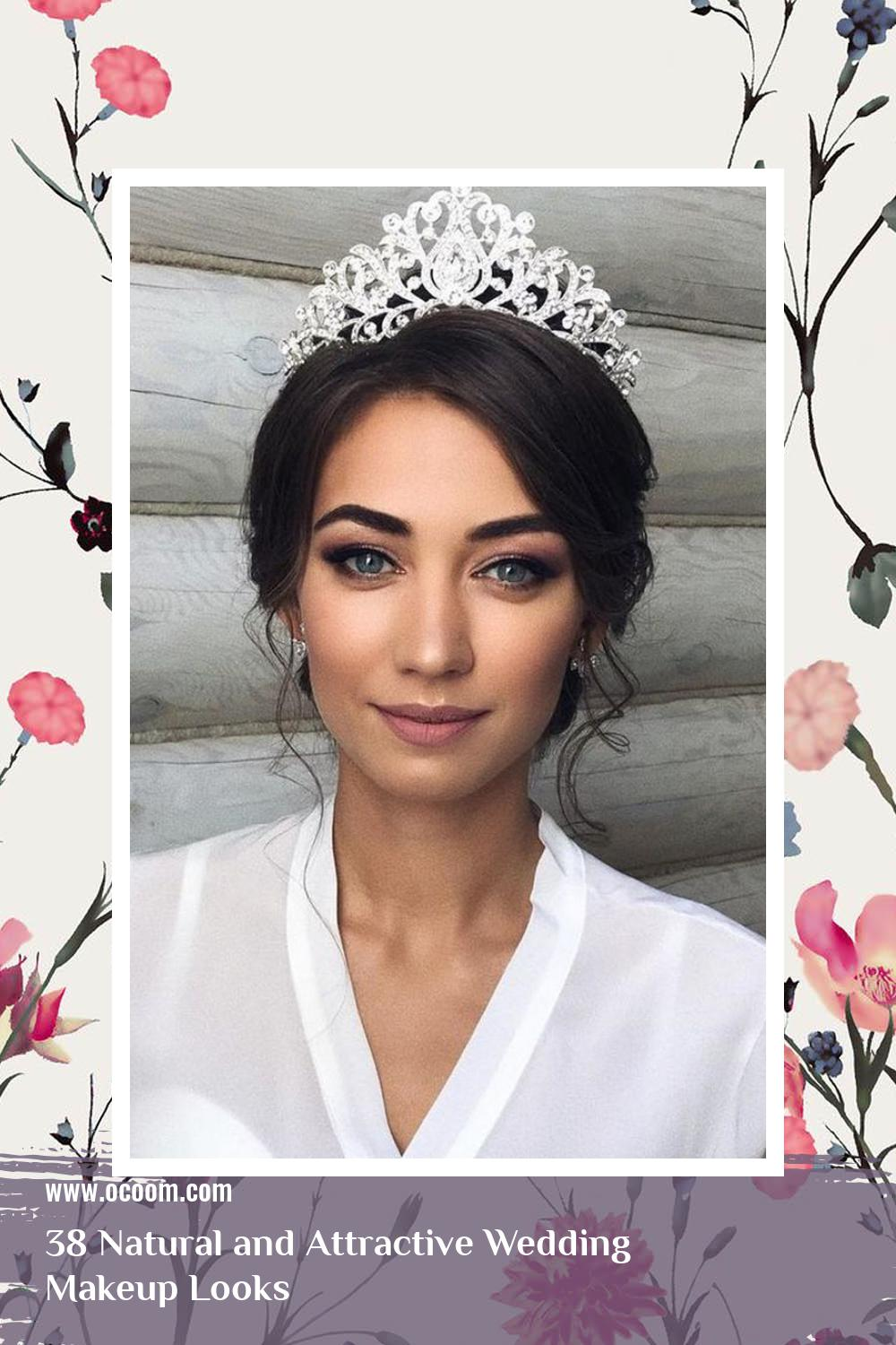 38 Natural and Attractive Wedding Makeup Looks 13