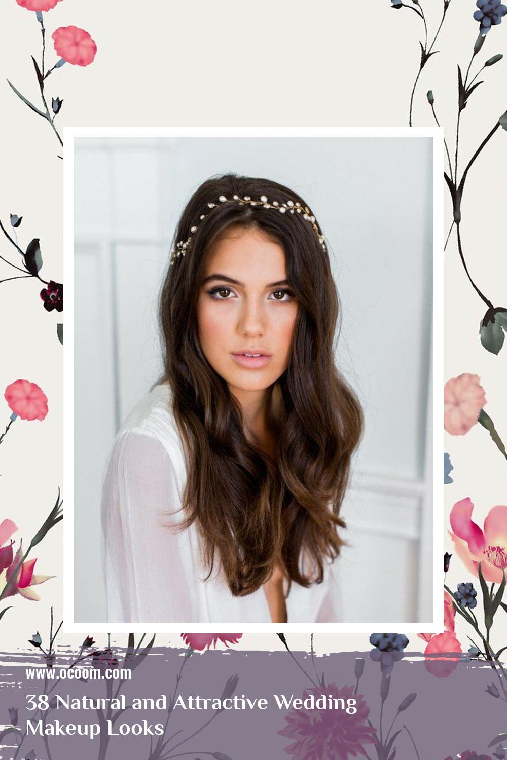 38 Natural and Attractive Wedding Makeup Looks 29