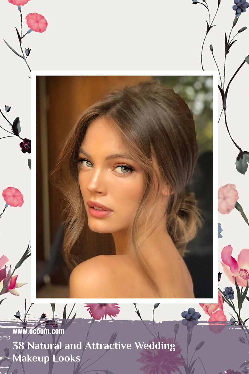 38 Natural and Attractive Wedding Makeup Looks 37