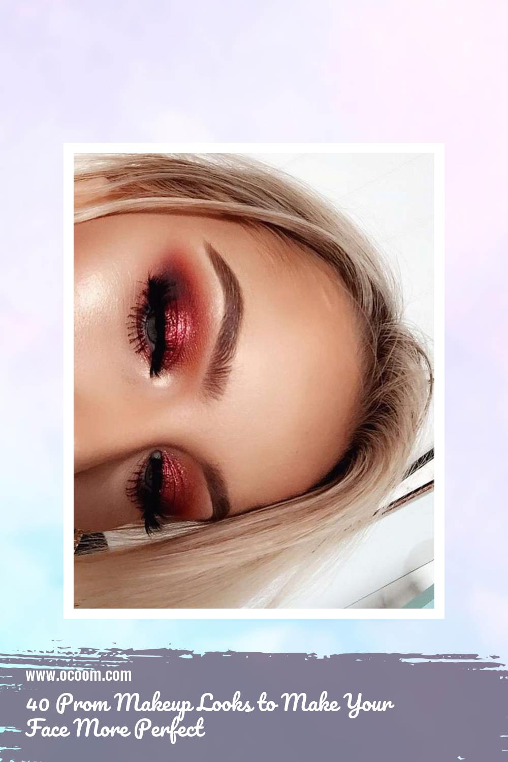 40 Prom Makeup Looks to Make Your Face More Perfect 12