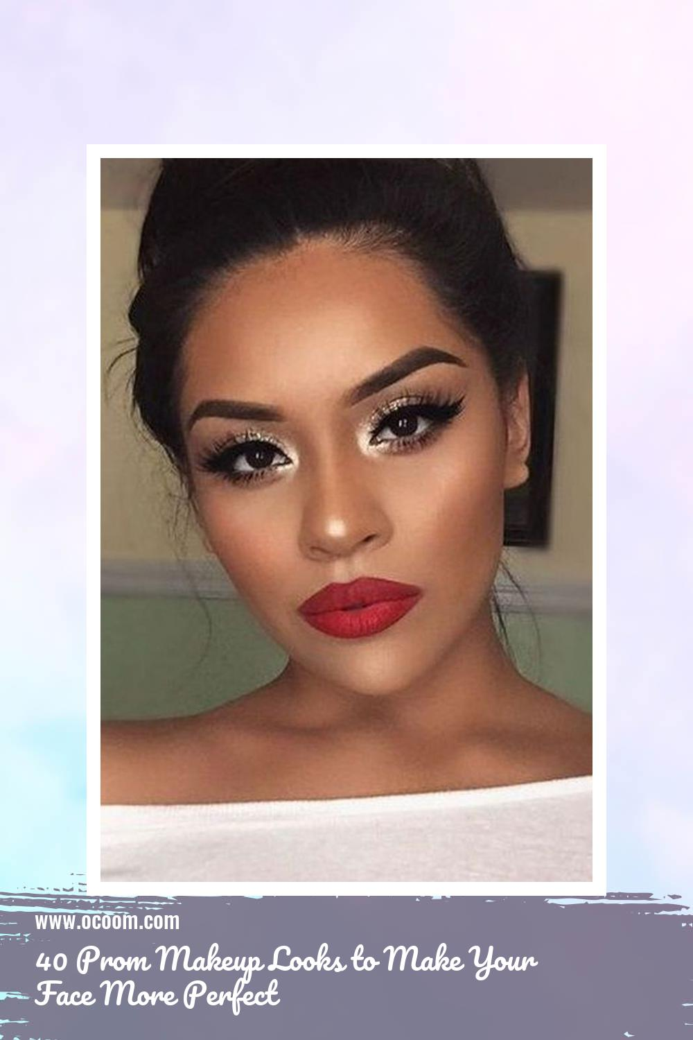 40 Prom Makeup Looks to Make Your Face More Perfect 13