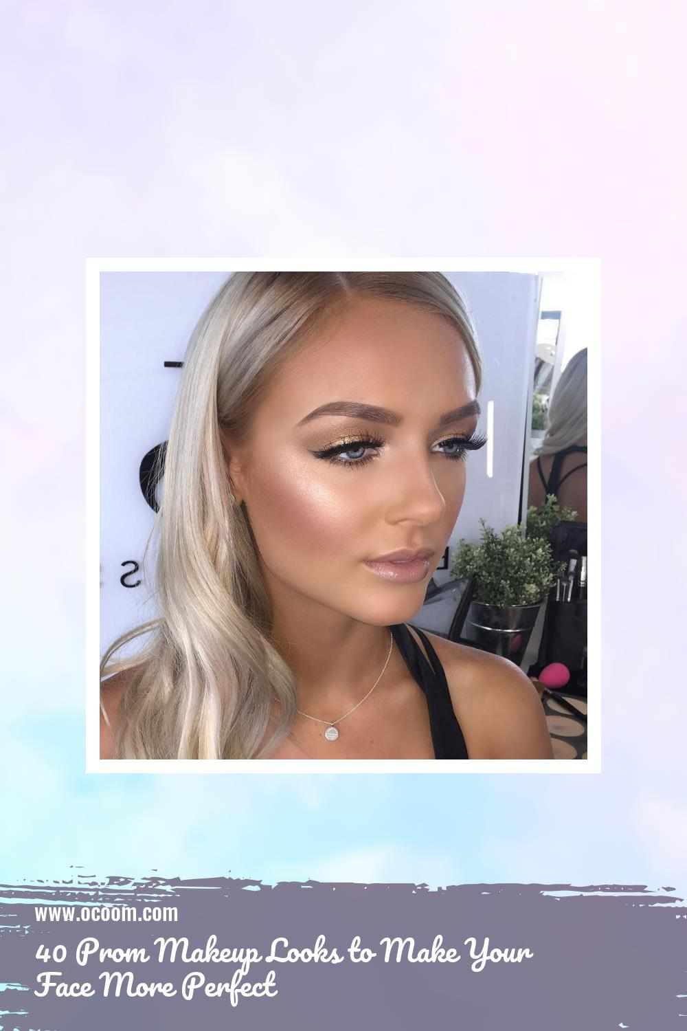40 Prom Makeup Looks to Make Your Face More Perfect 14