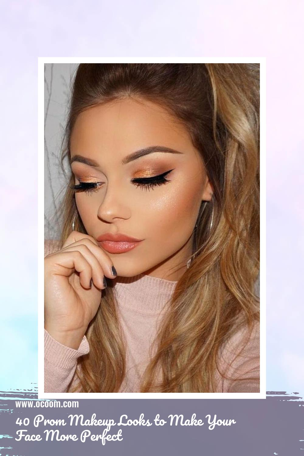 40 Prom Makeup Looks to Make Your Face More Perfect 18