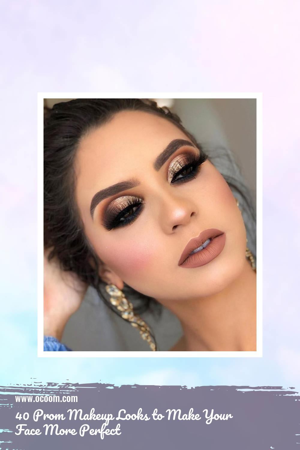 40 Prom Makeup Looks to Make Your Face More Perfect 20