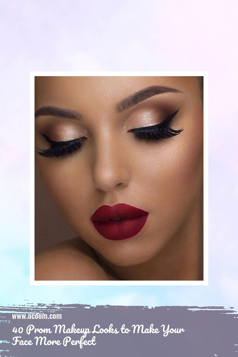 40 Prom Makeup Looks to Make Your Face More Perfect 26