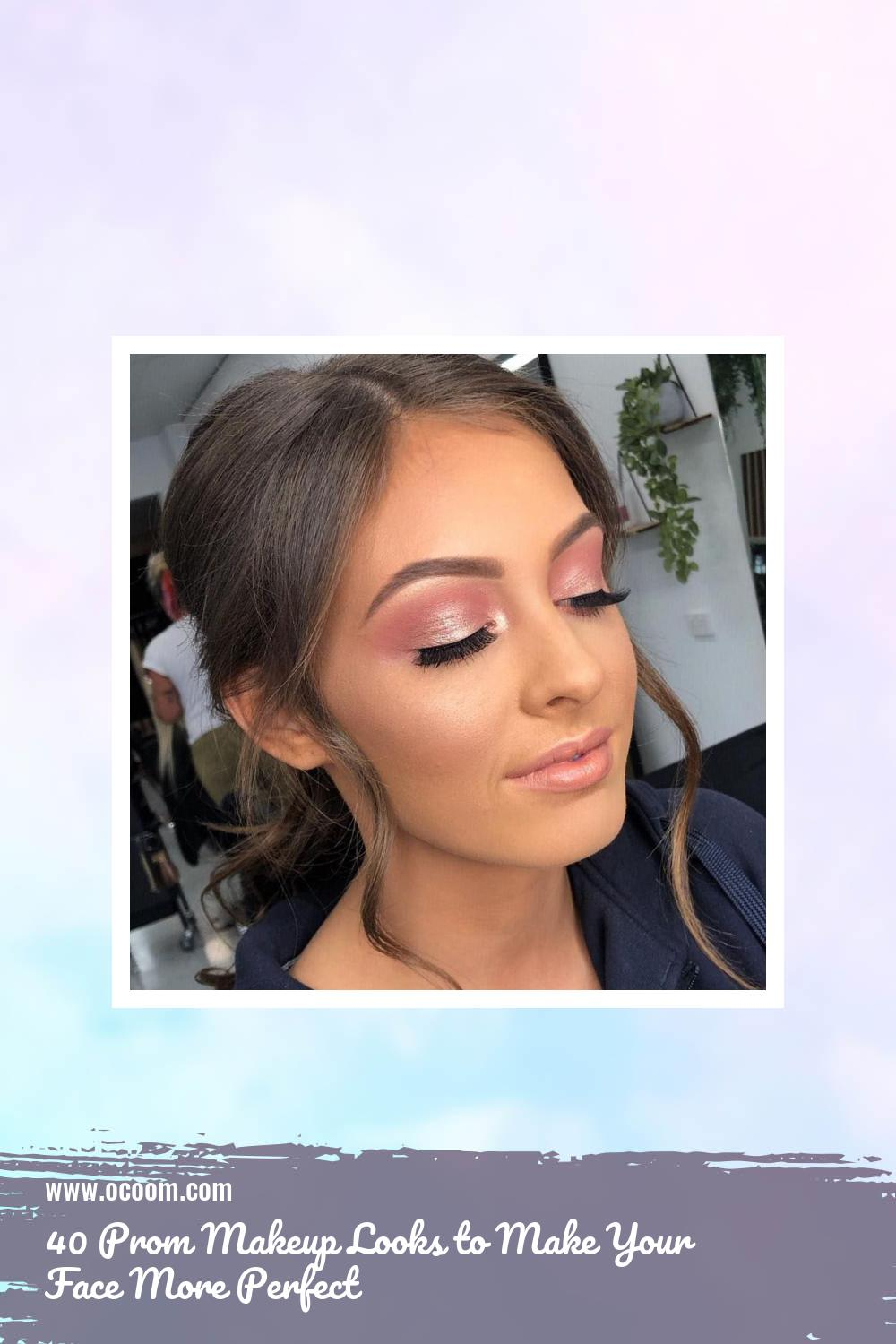 40 Prom Makeup Looks to Make Your Face More Perfect 3