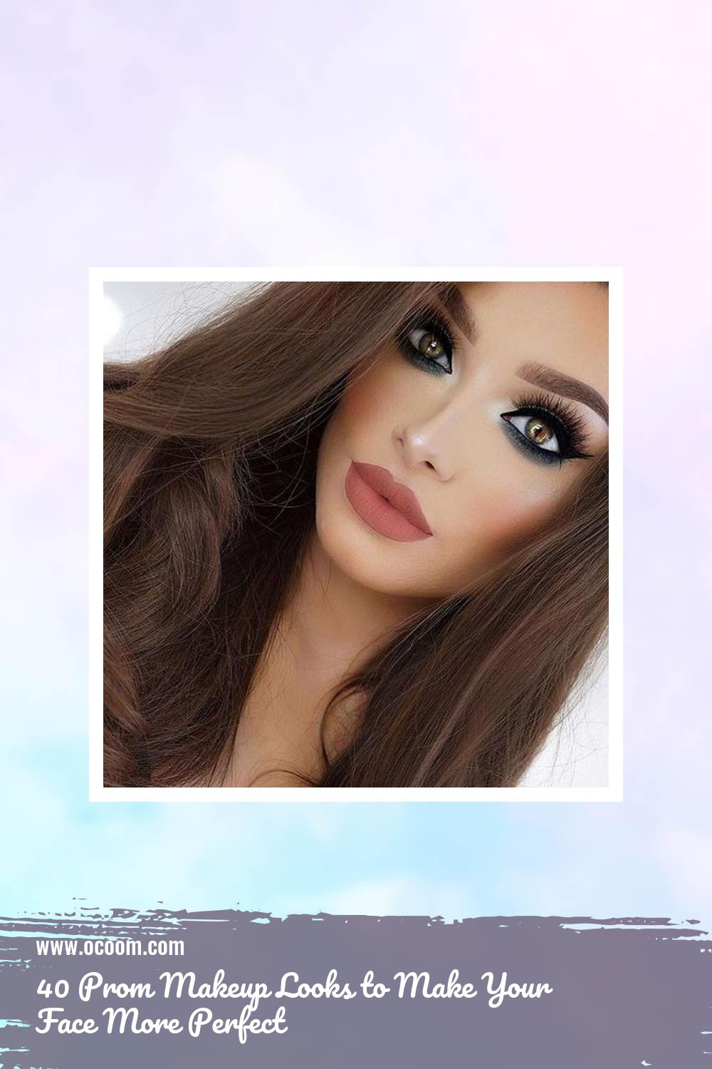 40 Prom Makeup Looks to Make Your Face More Perfect 37