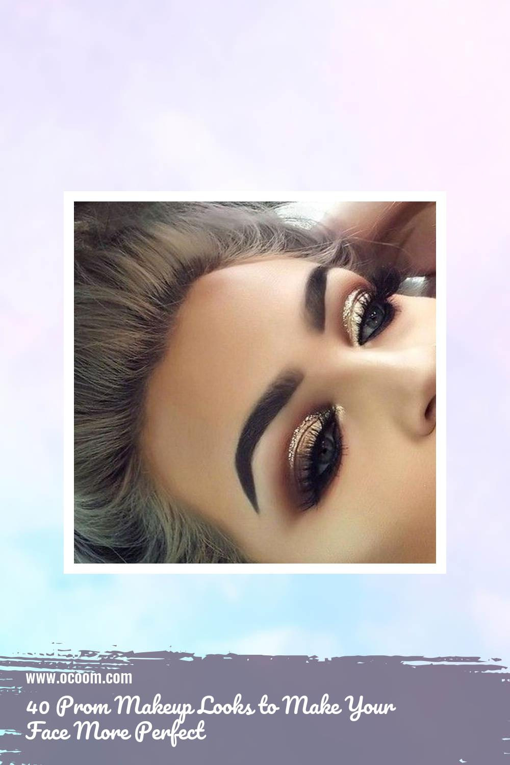 40 Prom Makeup Looks to Make Your Face More Perfect 39