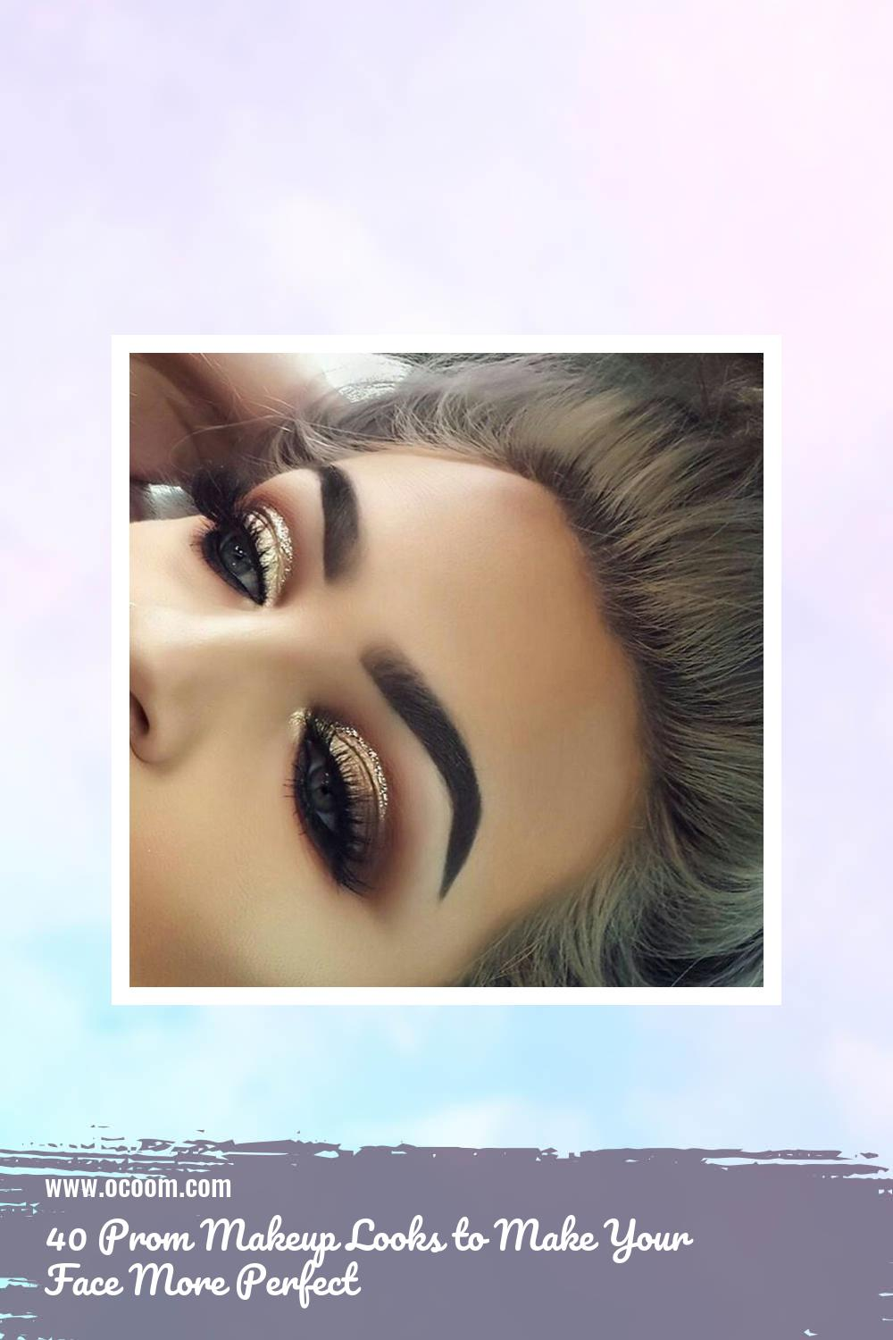 40 Prom Makeup Looks to Make Your Face More Perfect 5