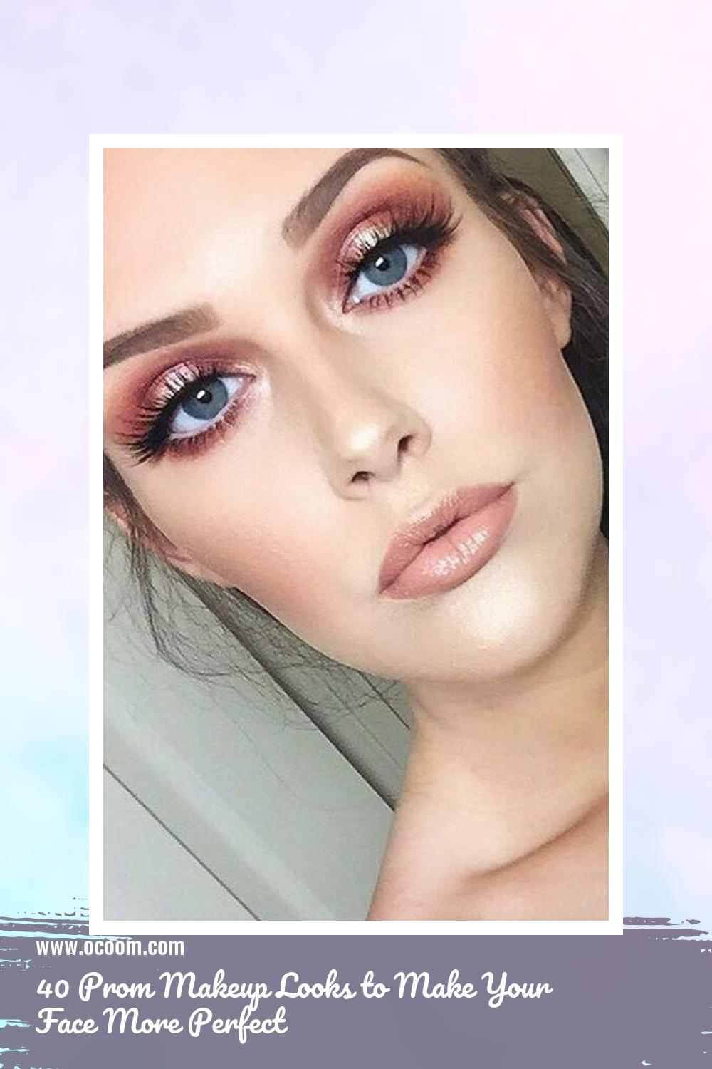 40 Prom Makeup Looks to Make Your Face More Perfect 7
