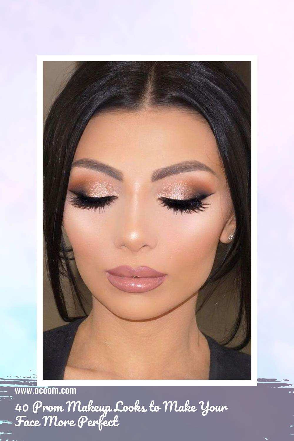 40 Prom Makeup Looks to Make Your Face More Perfect 9