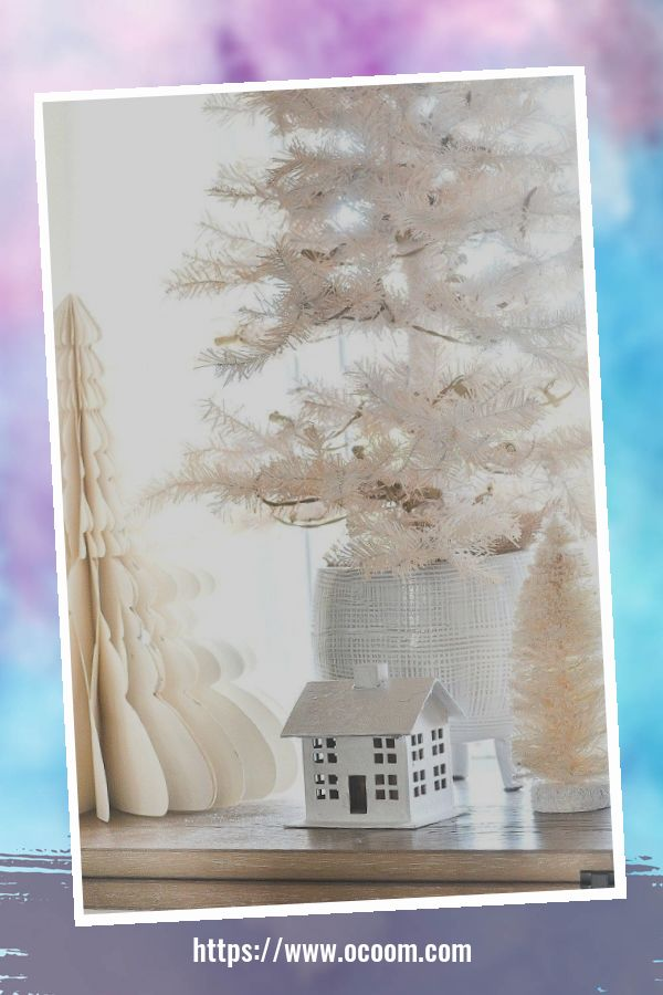 41 Magnificient Christmas Decoration Ideas With White Vintage 29