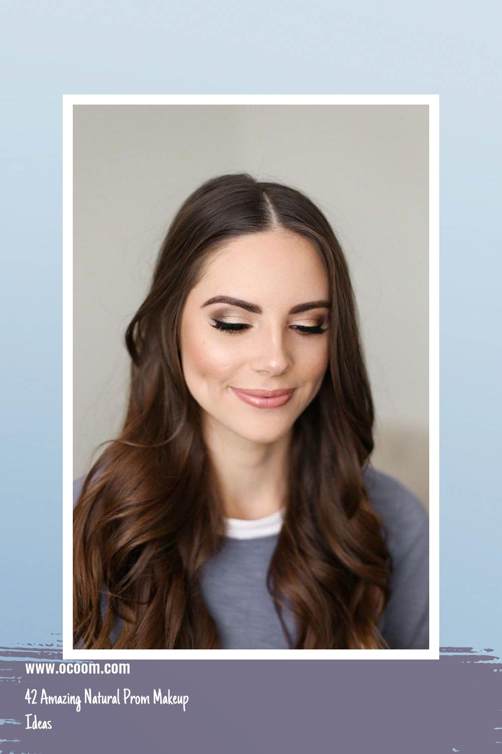 42 Amazing Natural Prom Makeup Ideas 23