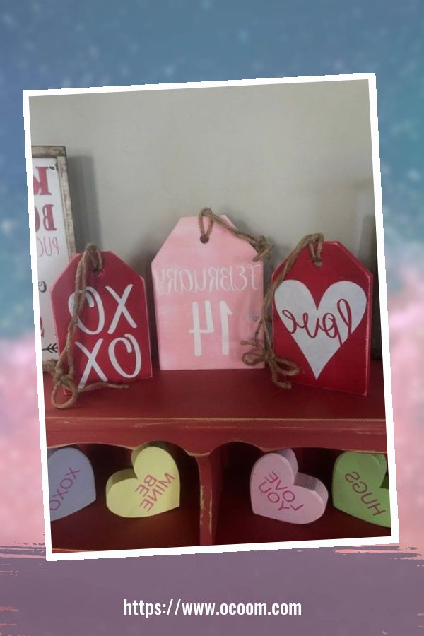 42 Awesome Homemade Decorations For Valentines Day 11