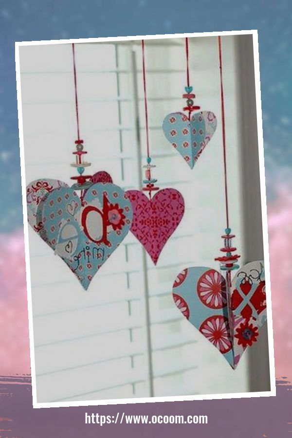 42 Awesome Homemade Decorations For Valentines Day 19