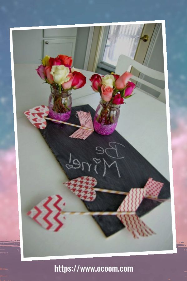 42 Awesome Homemade Decorations For Valentines Day 35