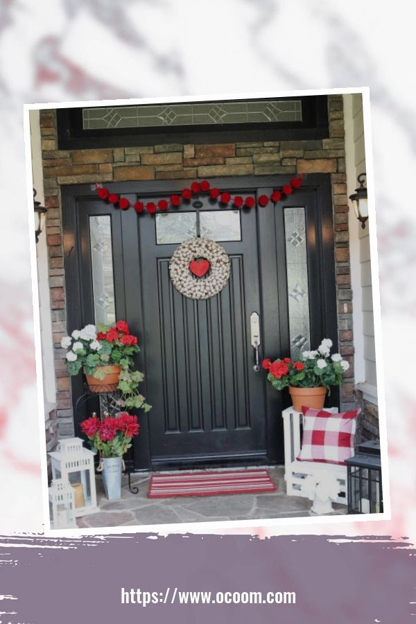 43 Best Ideas To Decorate Your Porch For Valentines Day 1
