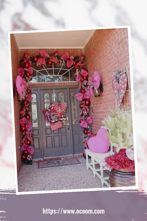 43 Best Ideas To Decorate Your Porch For Valentines Day 13