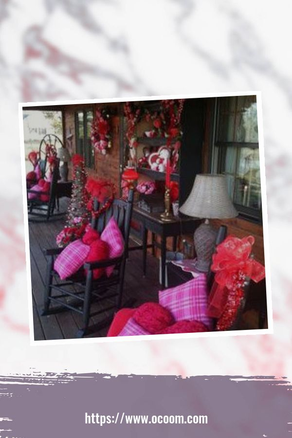 43 Best Ideas To Decorate Your Porch For Valentines Day 14