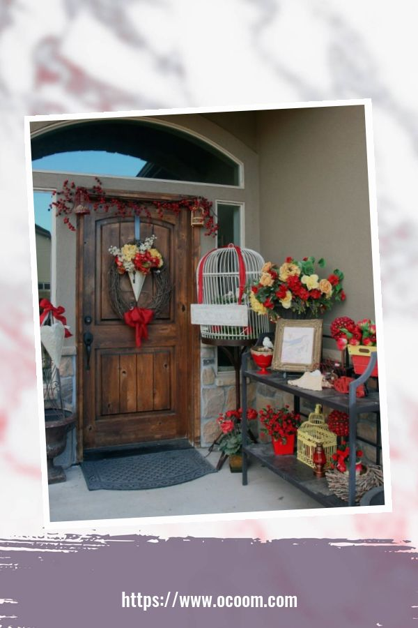 43 Best Ideas To Decorate Your Porch For Valentines Day 31