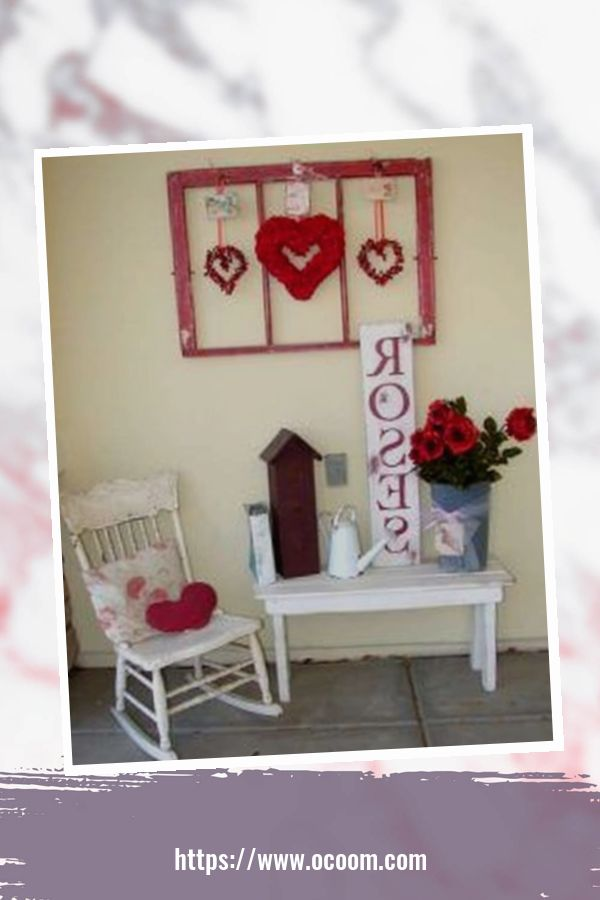 43 Best Ideas To Decorate Your Porch For Valentines Day 41