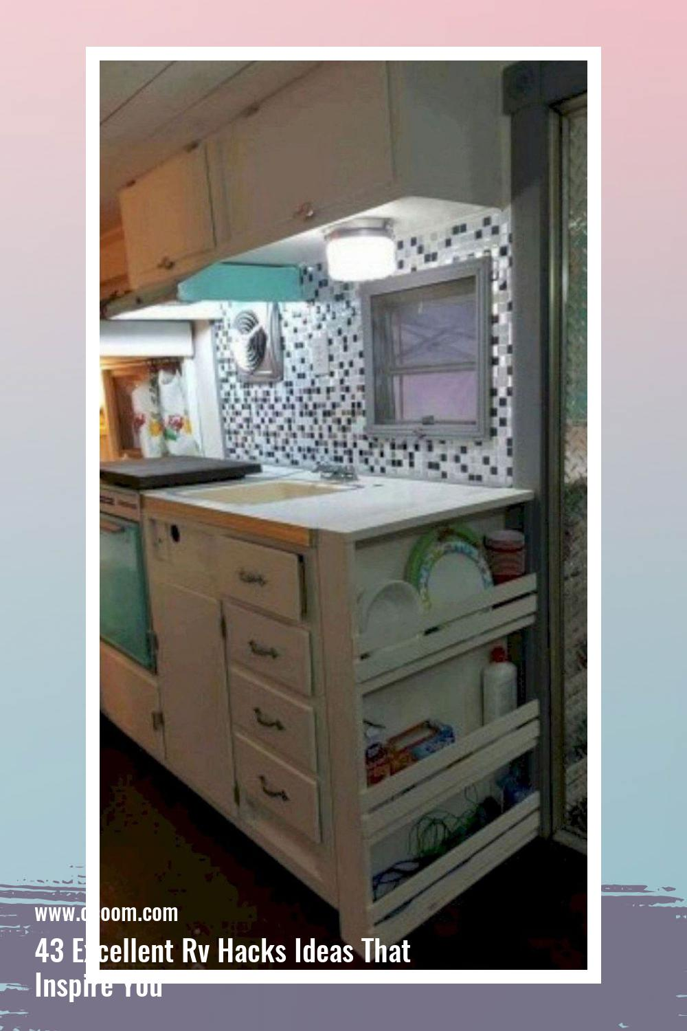 43 Excellent Rv Hacks Ideas That Inspire You 12