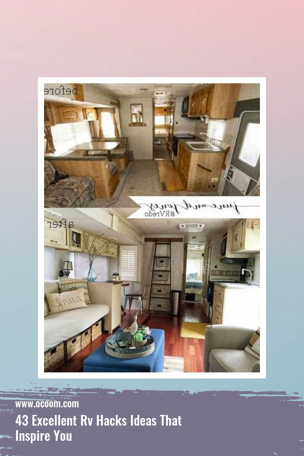 43 Excellent Rv Hacks Ideas That Inspire You 38