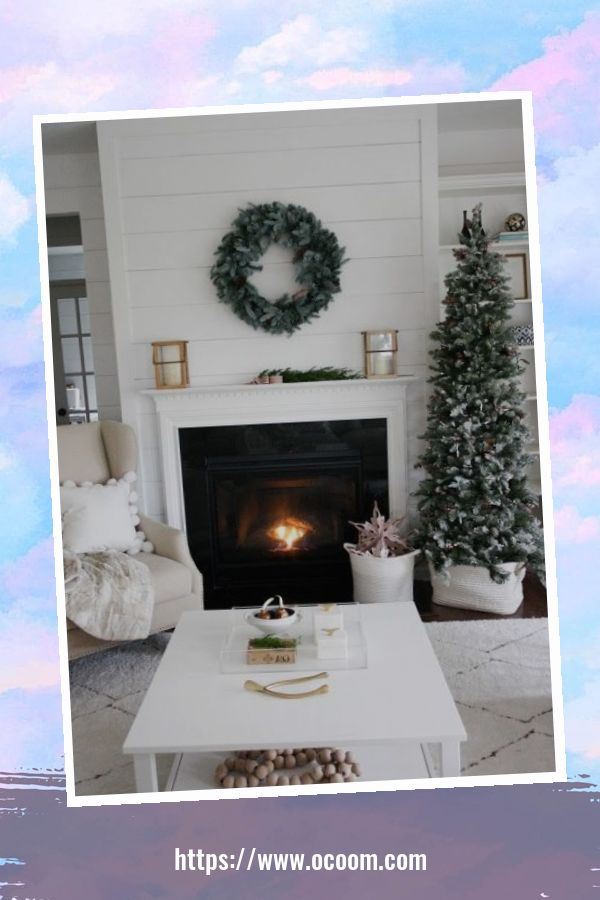 43 Pretty White Christmas Decor Ideas 19