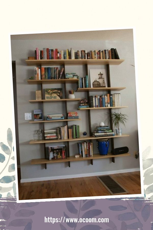 44 Cool Minimalist Bookshelf Decorating Ideas To Perfect Your Interior Design 1