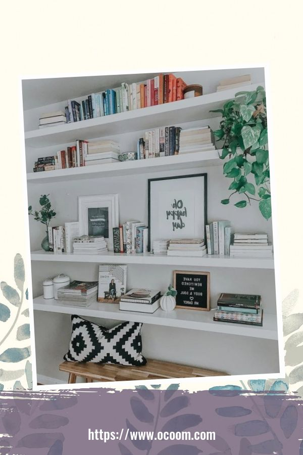 44 Cool Minimalist Bookshelf Decorating Ideas To Perfect Your Interior Design 27