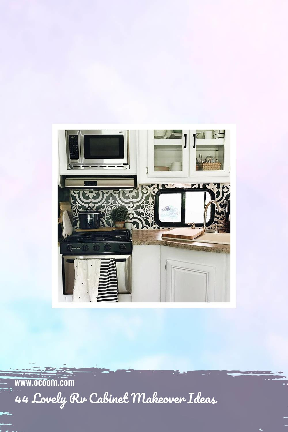 44 Lovely Rv Cabinet Makeover Ideas 11