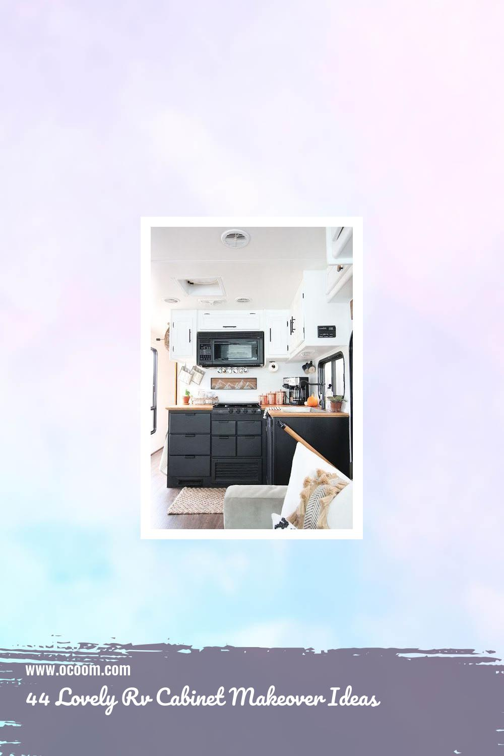 44 Lovely Rv Cabinet Makeover Ideas 14